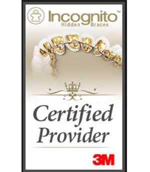 M Incognito Hidden Braces Logo